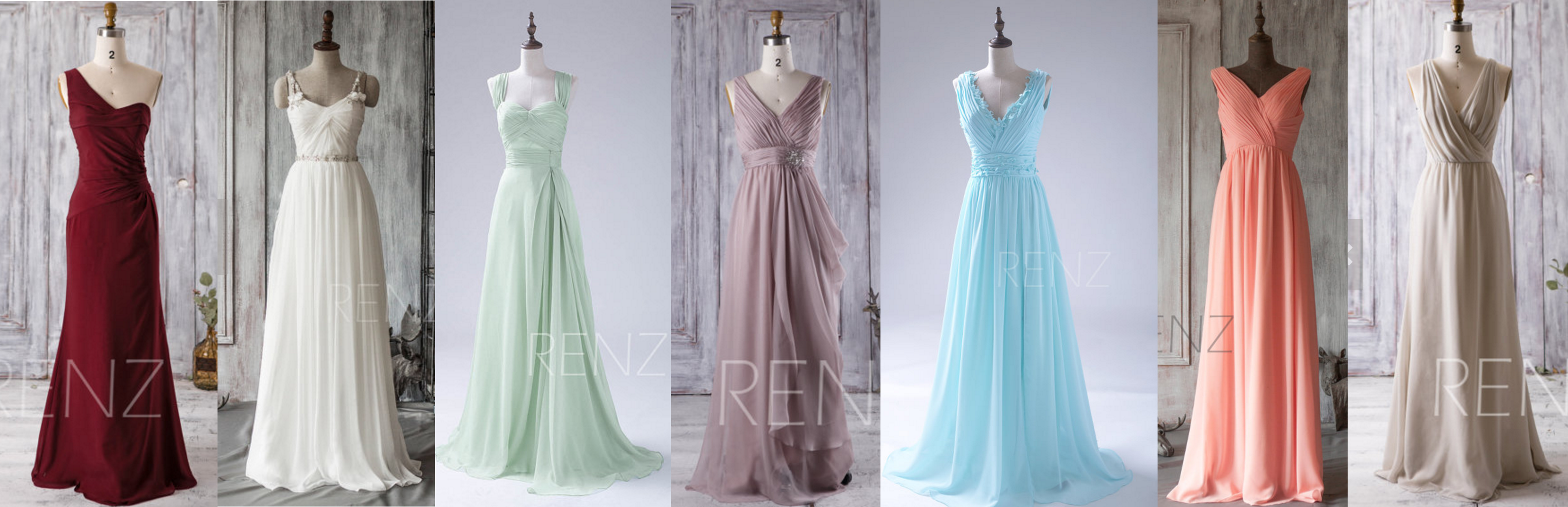 Bridesmaid Dresses Swatches
