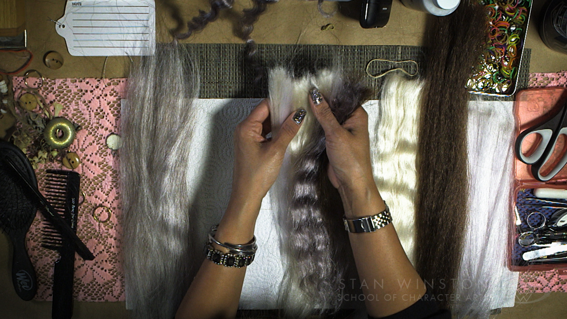 Character Hairwork: Hair Laying for Prosthetic Makeup