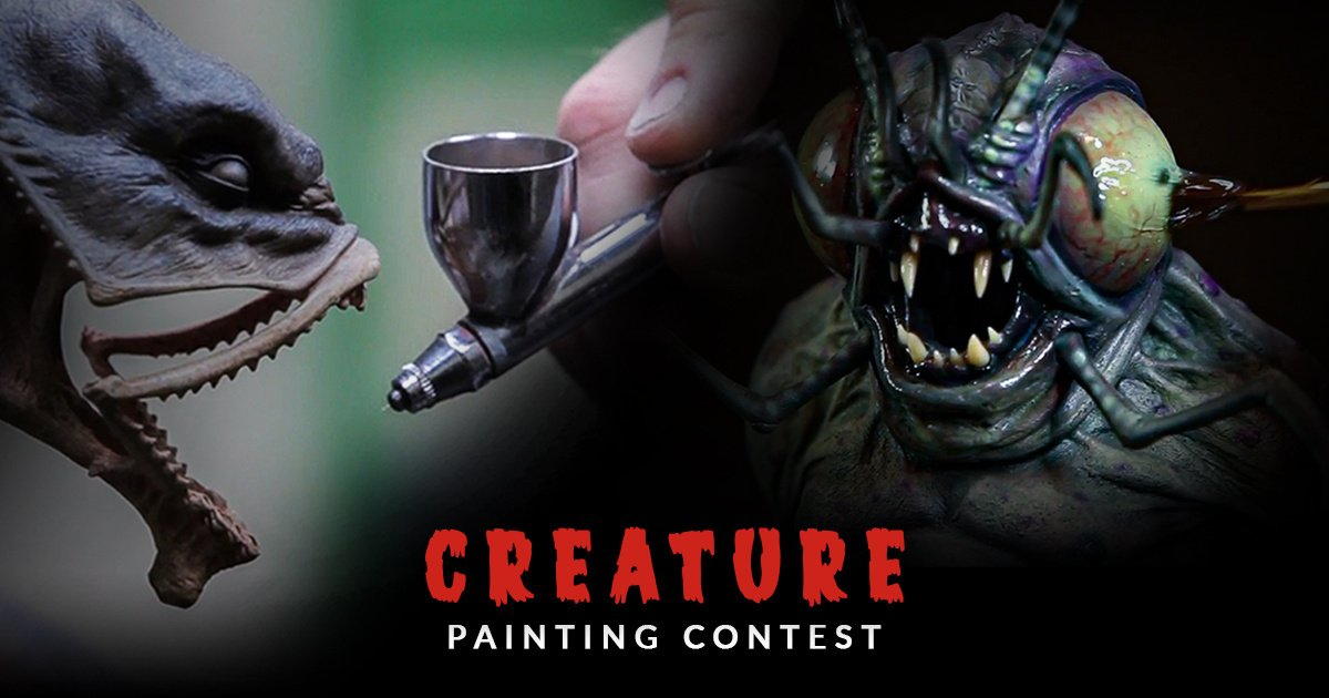 Creature Painting Contest