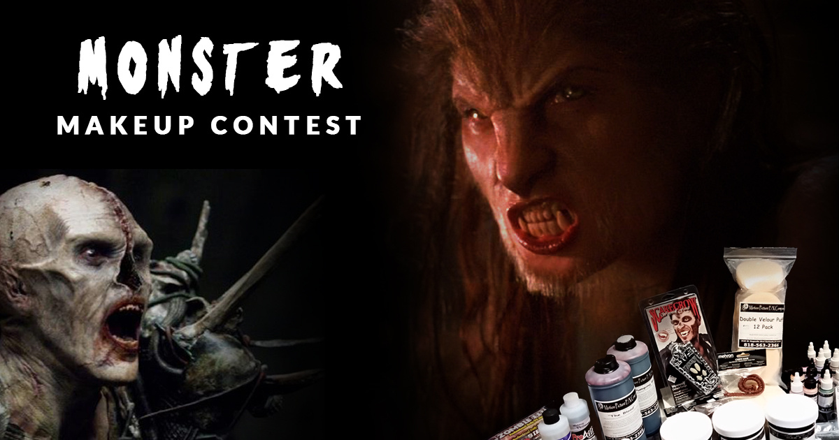 Monster Makeup Contest