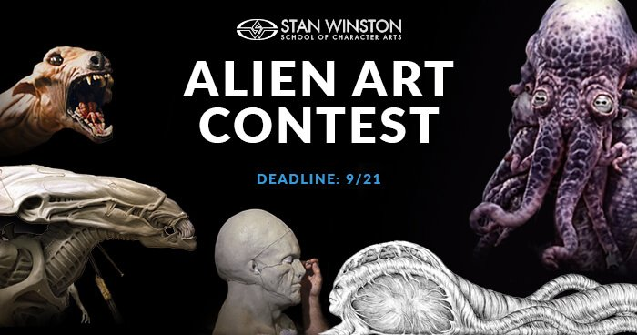 Alien Art Contest 2018