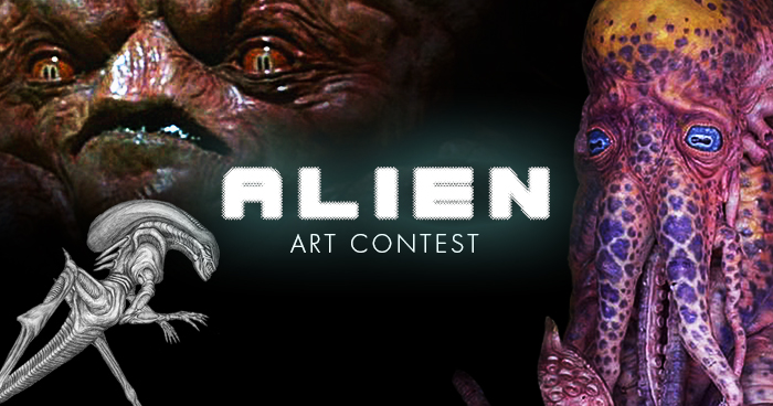 Alien Art Contest