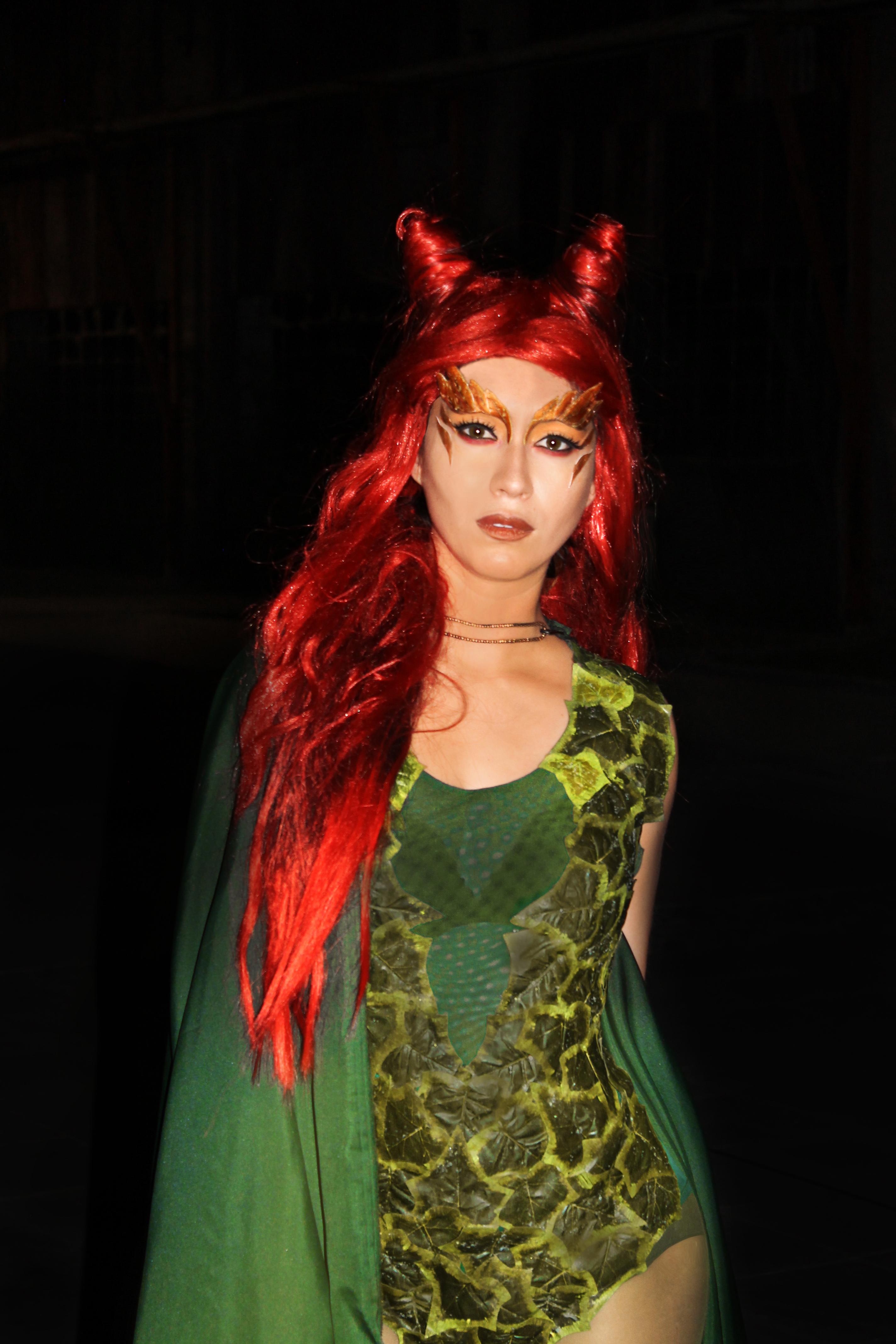 Poison Ivy ( Uma Thurman version) — Stan Winston School of
