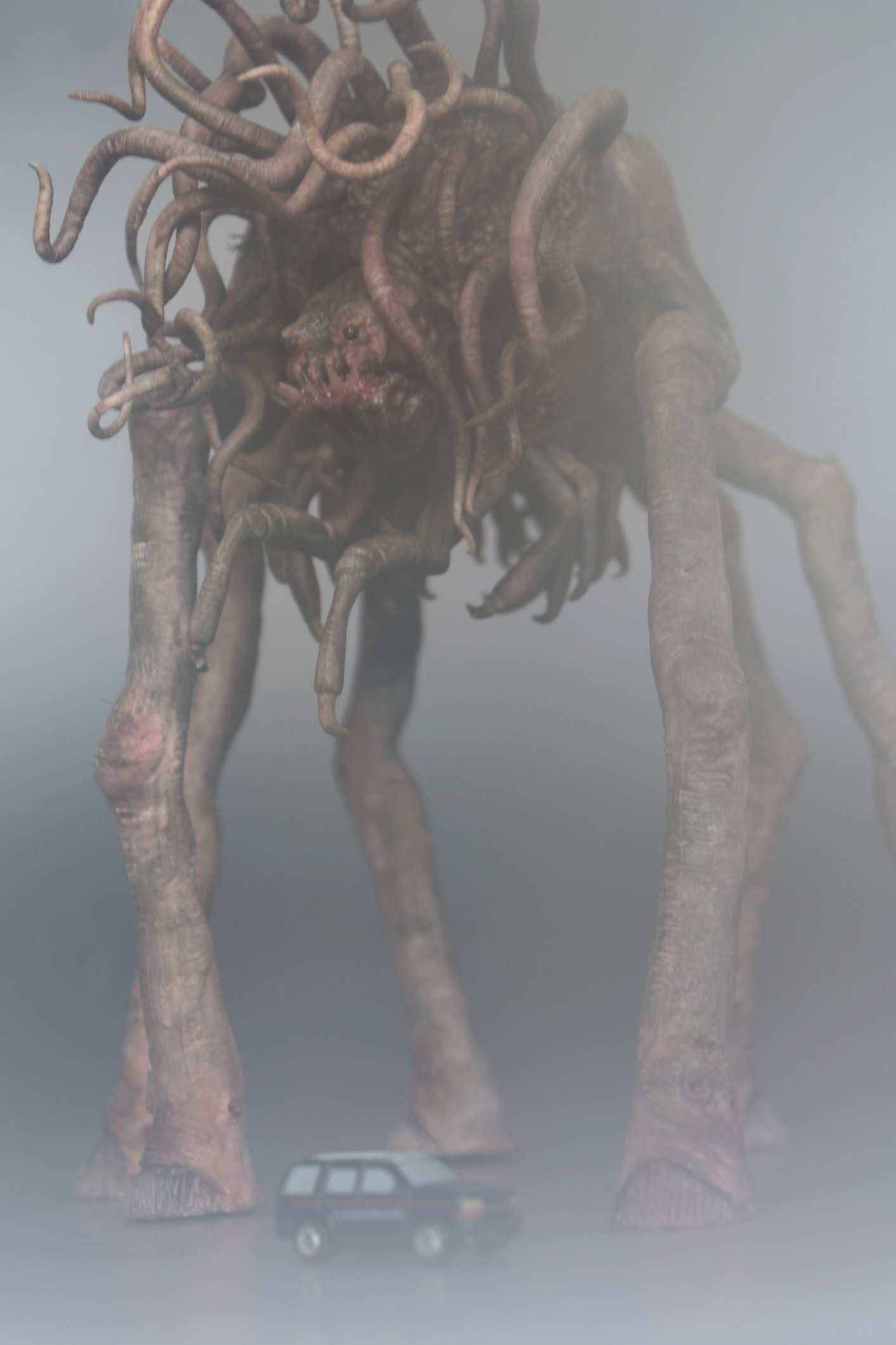 Behemot The Mist 2008 Di Stephen King Frank Darabont H P Lovecraft Inspired Monster Stan Winston School Of Character Arts Forums