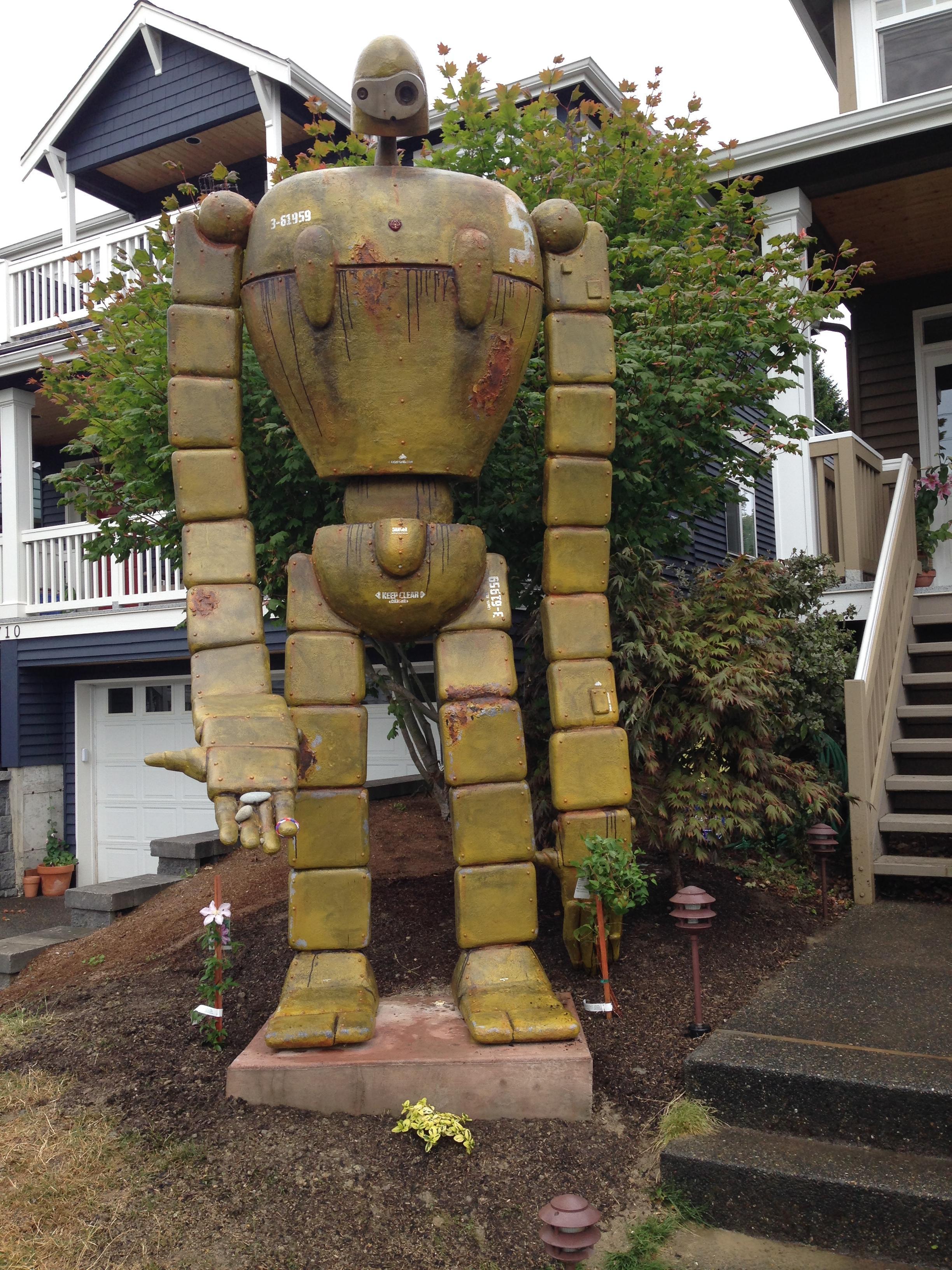 Castle in the Sky Robot Sculpt — Stan Winston School of Character ...
