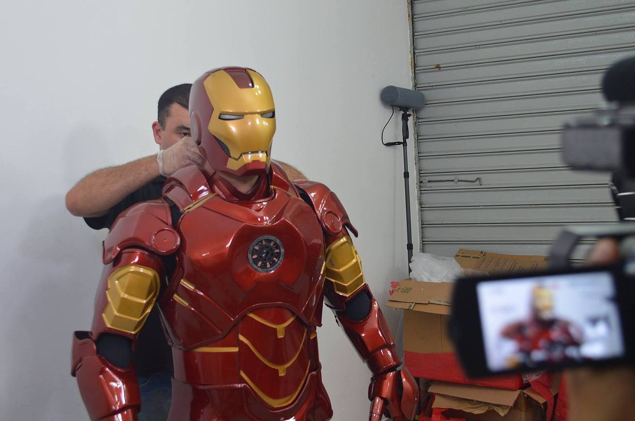 Iron man Mark IV cosplay — Stan Winston School of ...