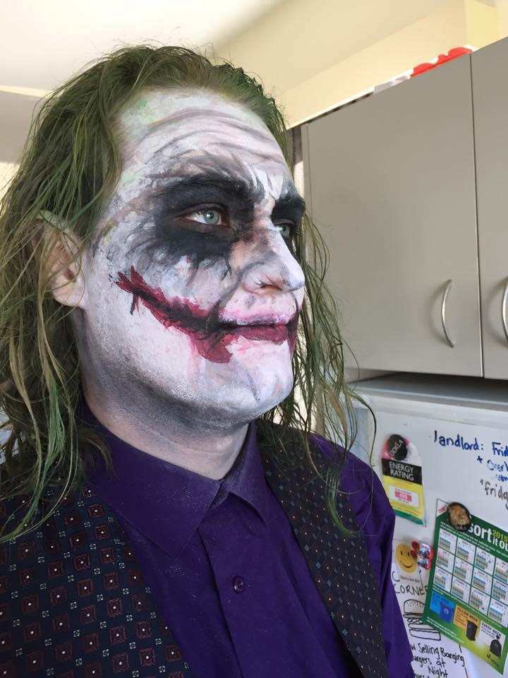 black ops joker face paint how to get