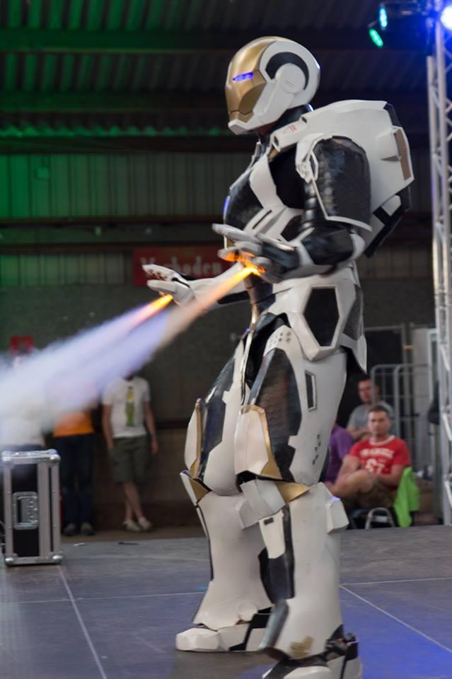 Iron man mk 39 Starbooster/gemini armor — Stan Winston ...