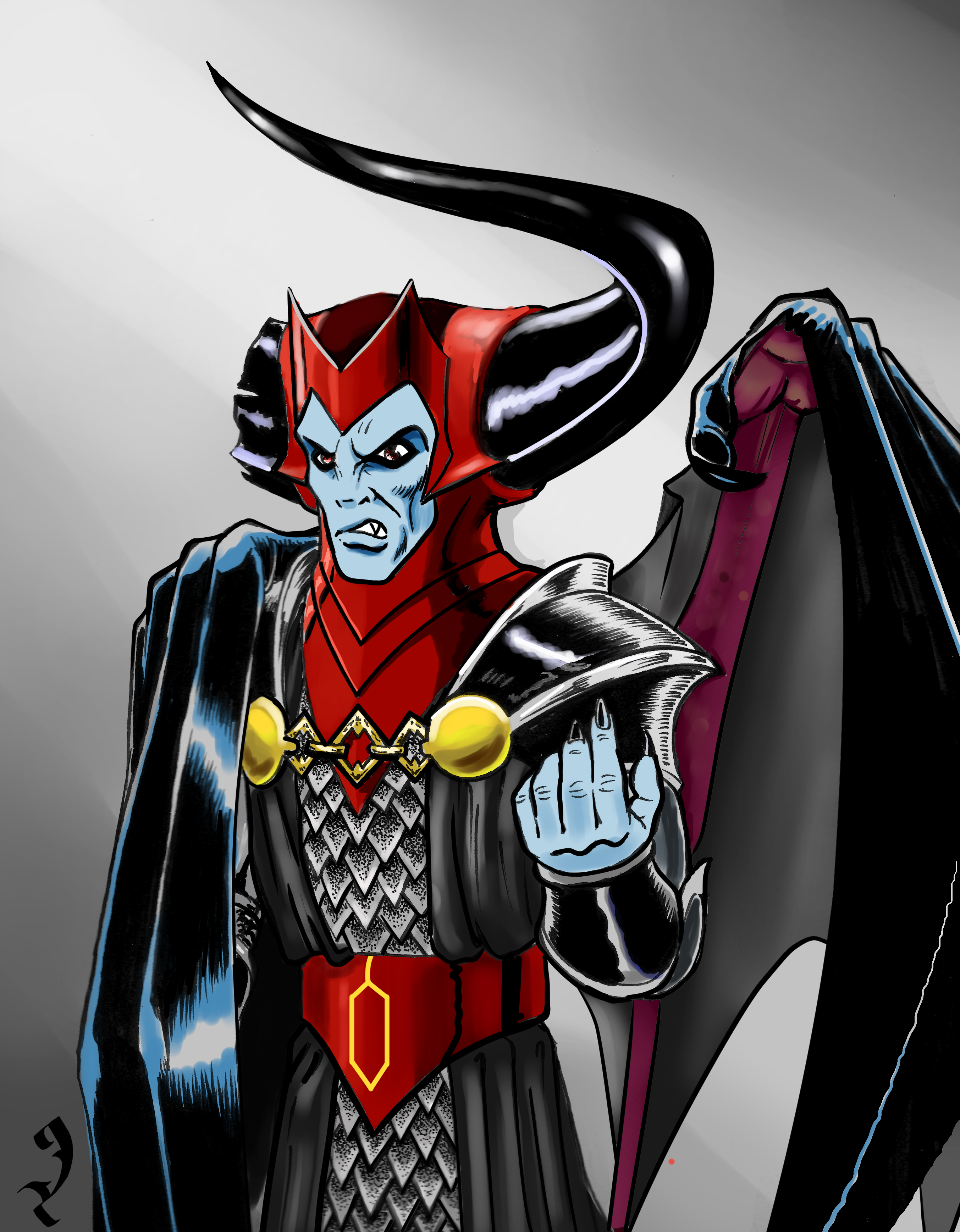 heroes amp villains venger from the dampd cartoon in the 80