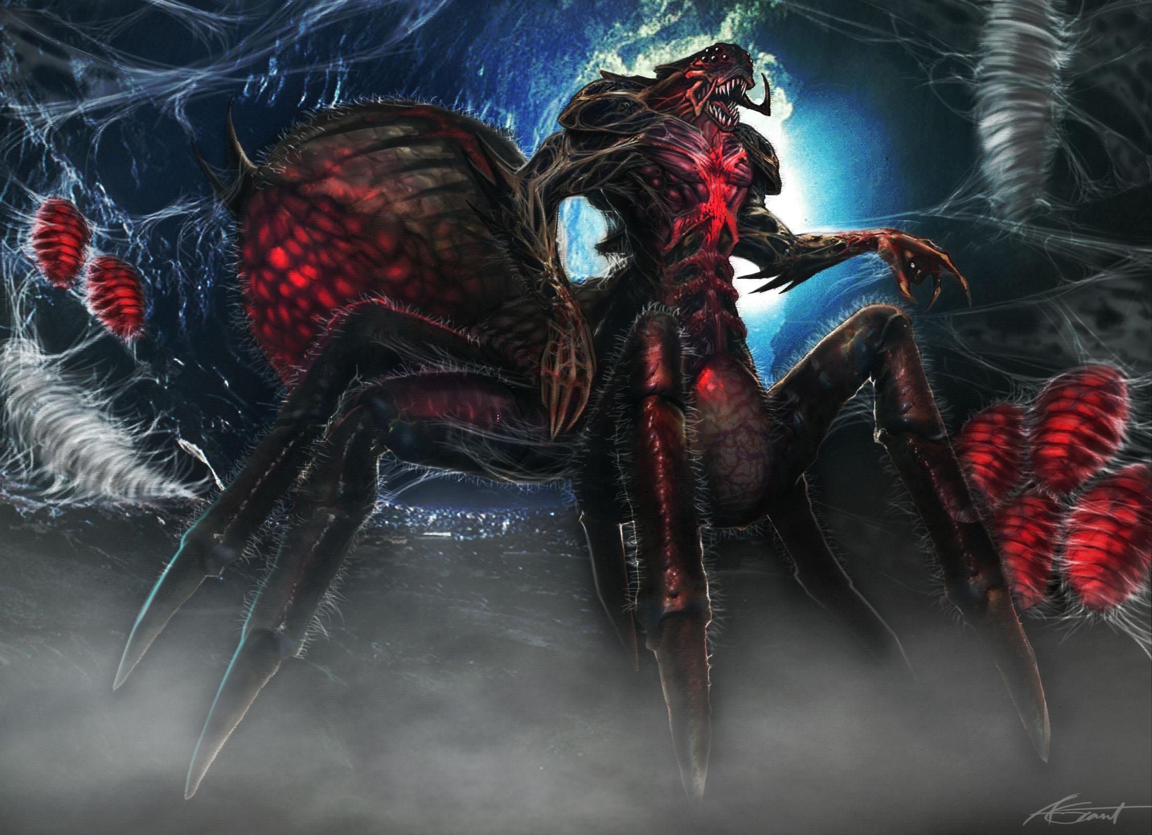 Alien Spider Concept Art