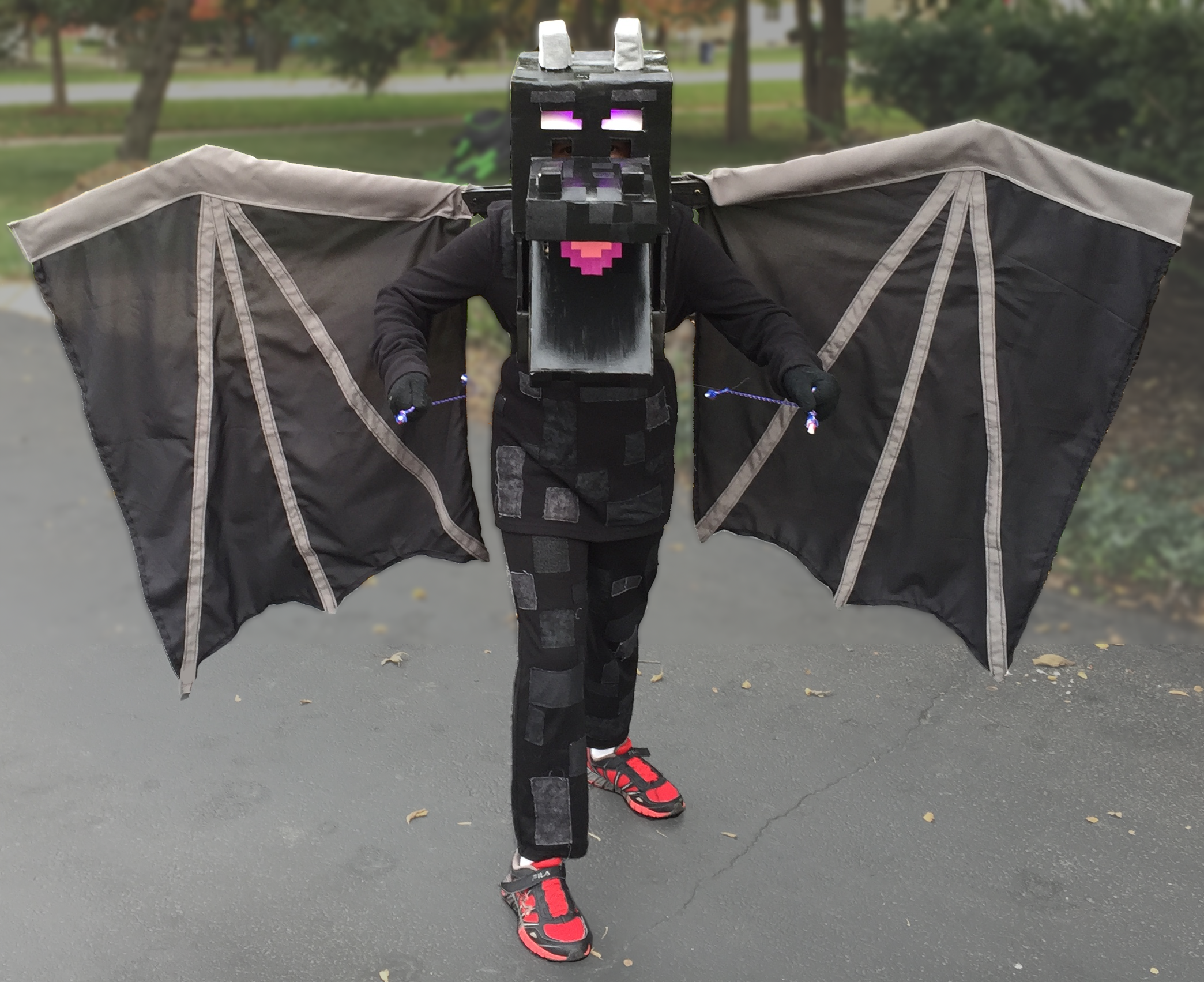 Ender Dragon - Halloween Costume Contest 2017 — Stan ...