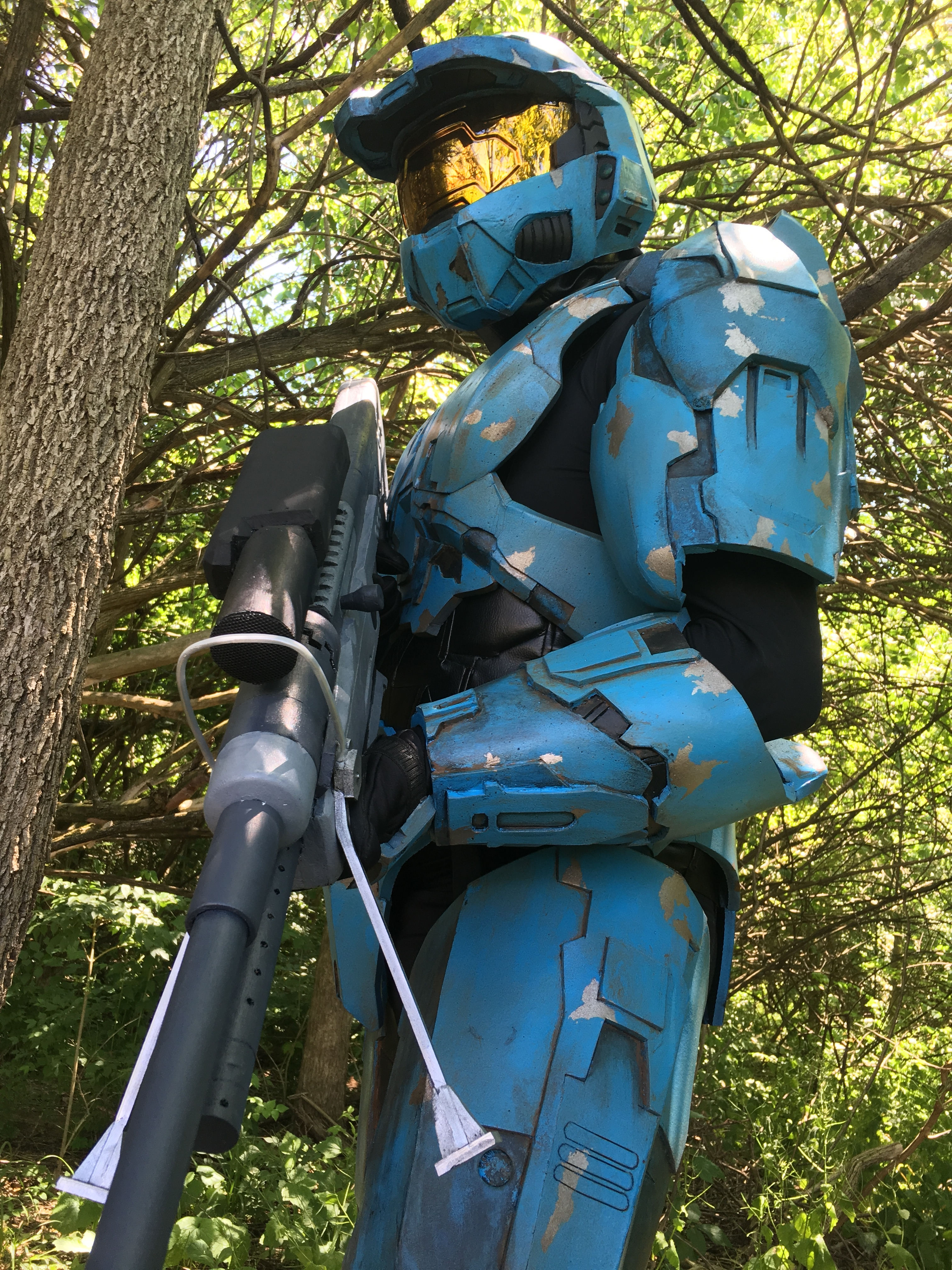 church and tex from red vs blue � stan winston school of