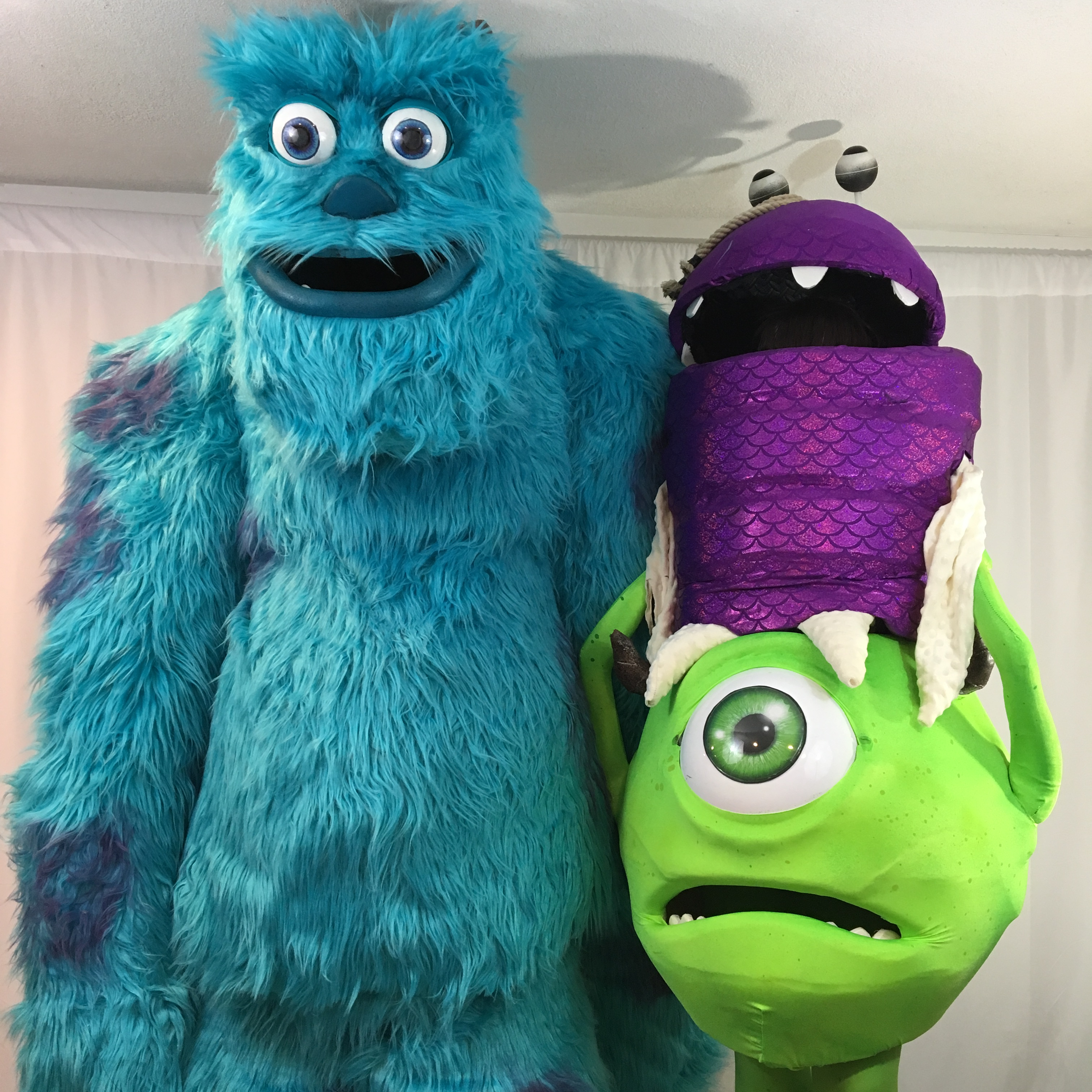 Monsters Inc. Sully Mike and Boo — Stan Winston School of ...