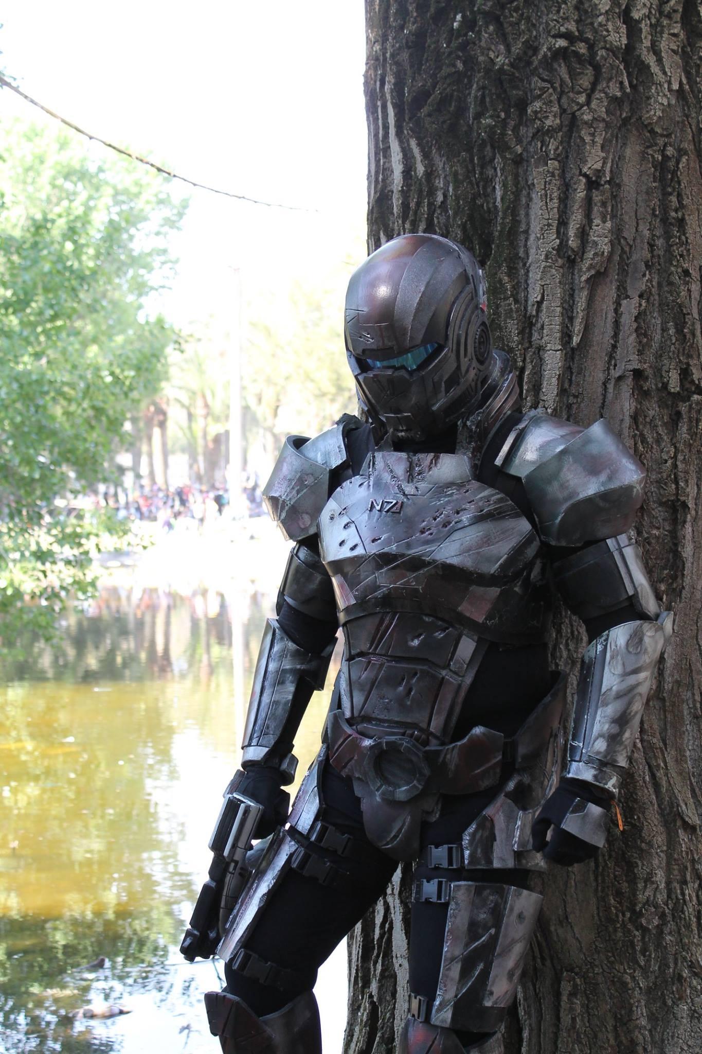 commander J.Shepard, post-war N7 armor from Mass Effect 3 . — Stan ...