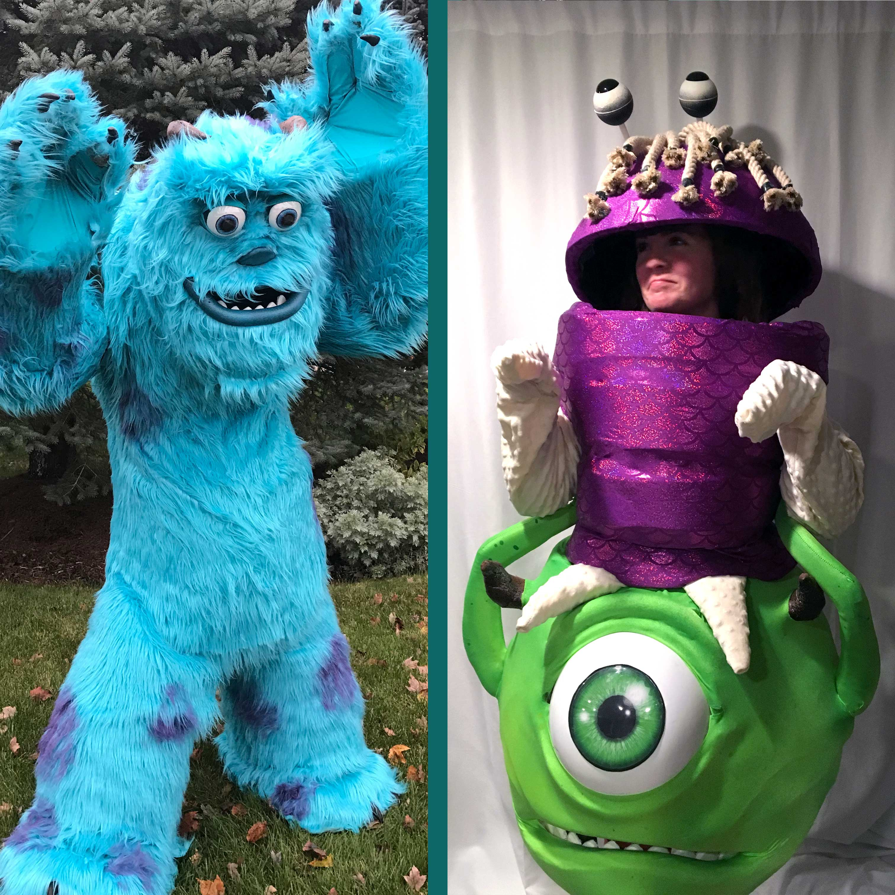 monsters inc. sully mike and boo — stan winston school of character