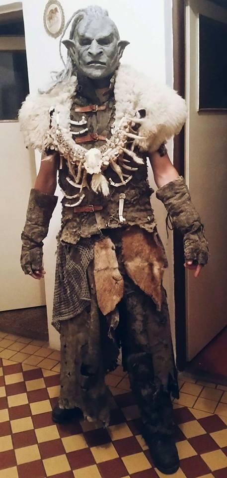 Orc Lotr Costume Halloween Contest 2017...