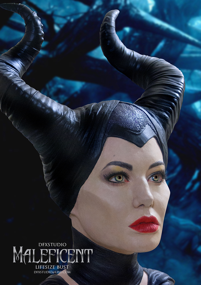 Maleficent Angelina Jolie 1 1 Scale Bust Stan Winston