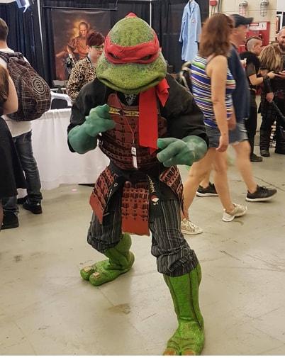 1990 Teenage Mutant Ninja Turtles Raphael Stan Winston School