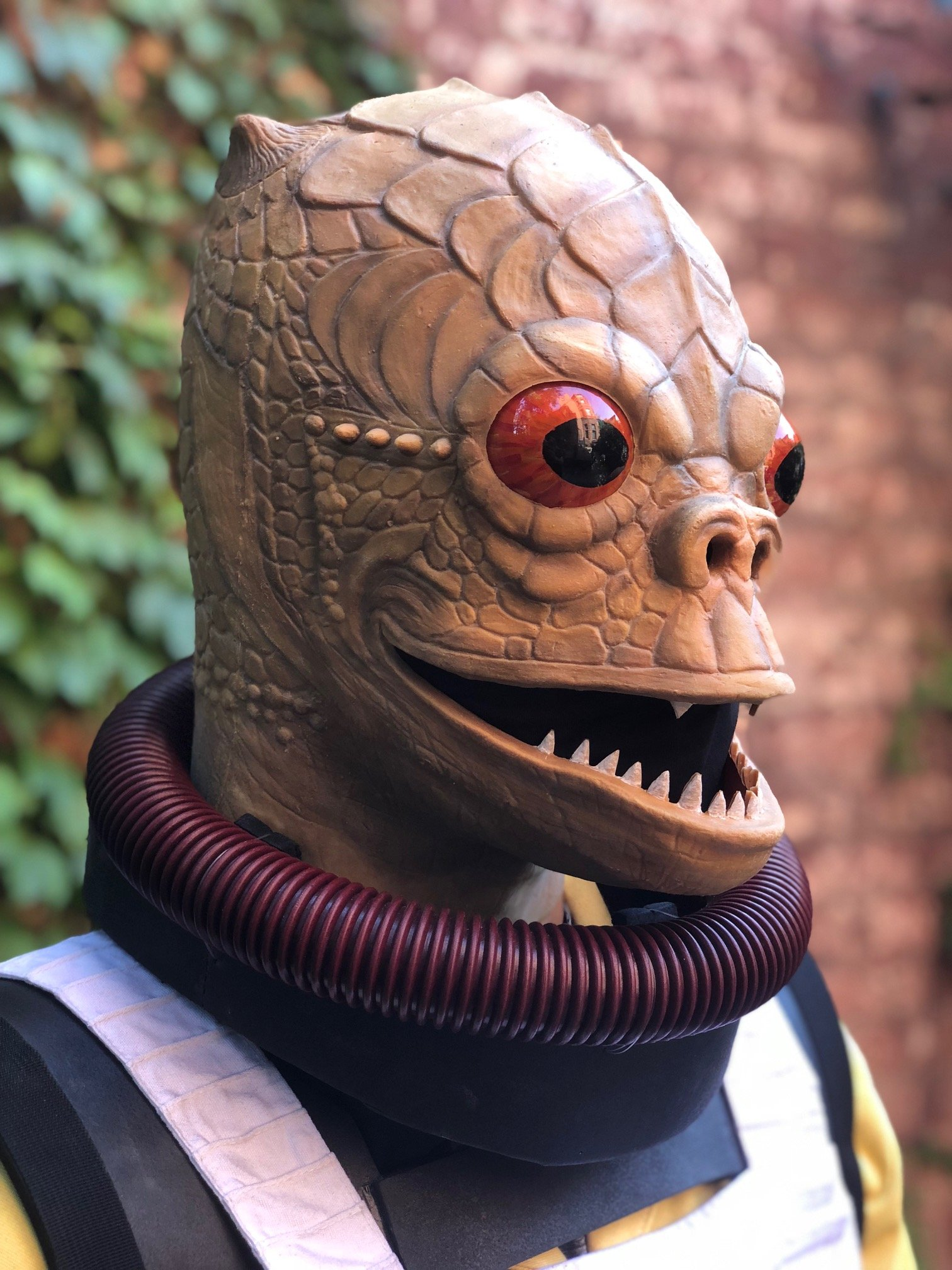 My Bossk Costume Stan Winston School Of Character Arts Forums