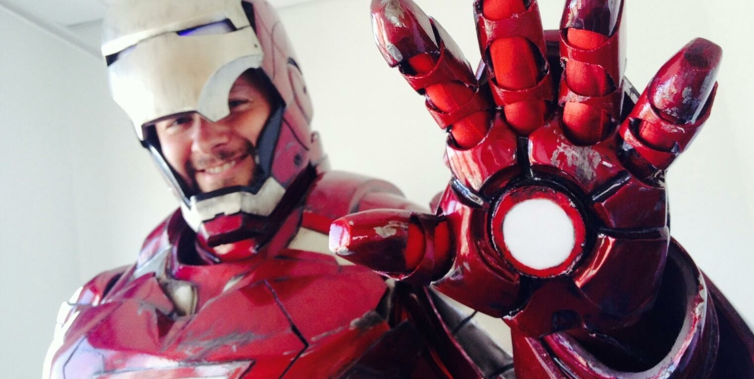 Iron Man mk6 fiberglass — Stan Winston School of Character ...