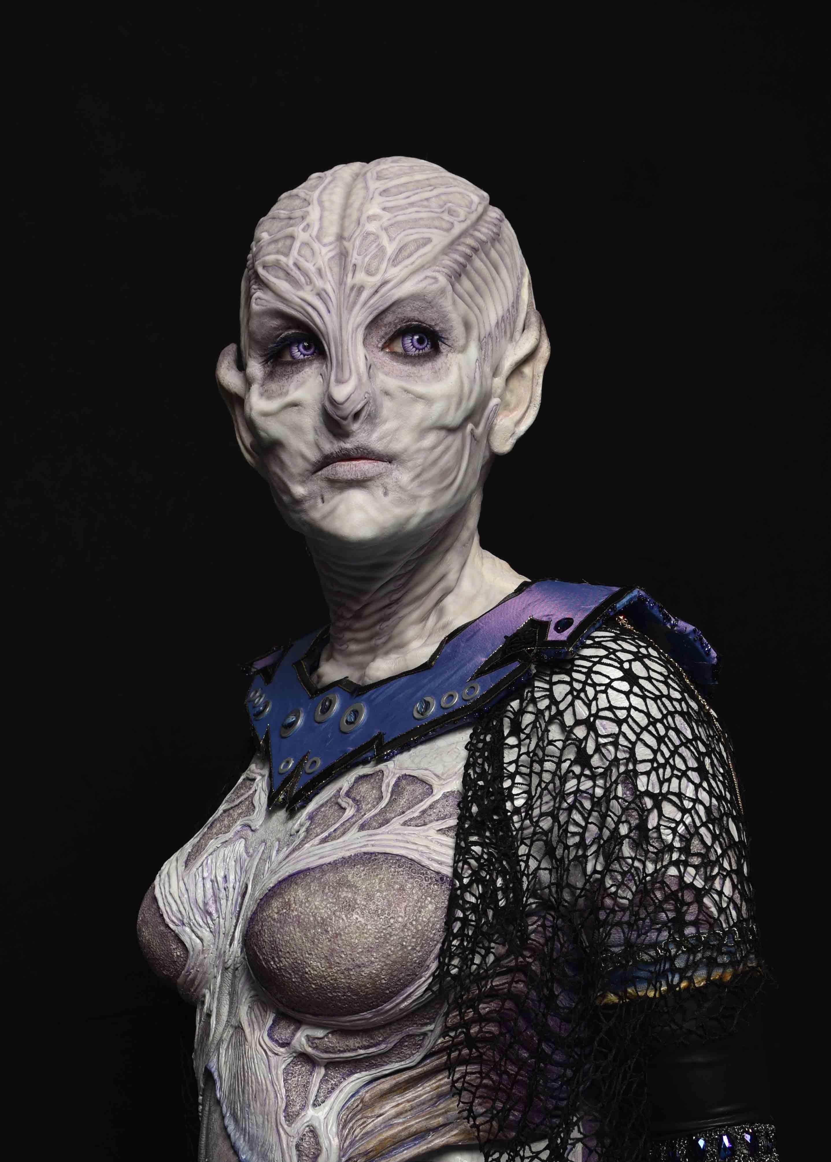 Female Alien prosthetic makeup — Stan Winston School of Character