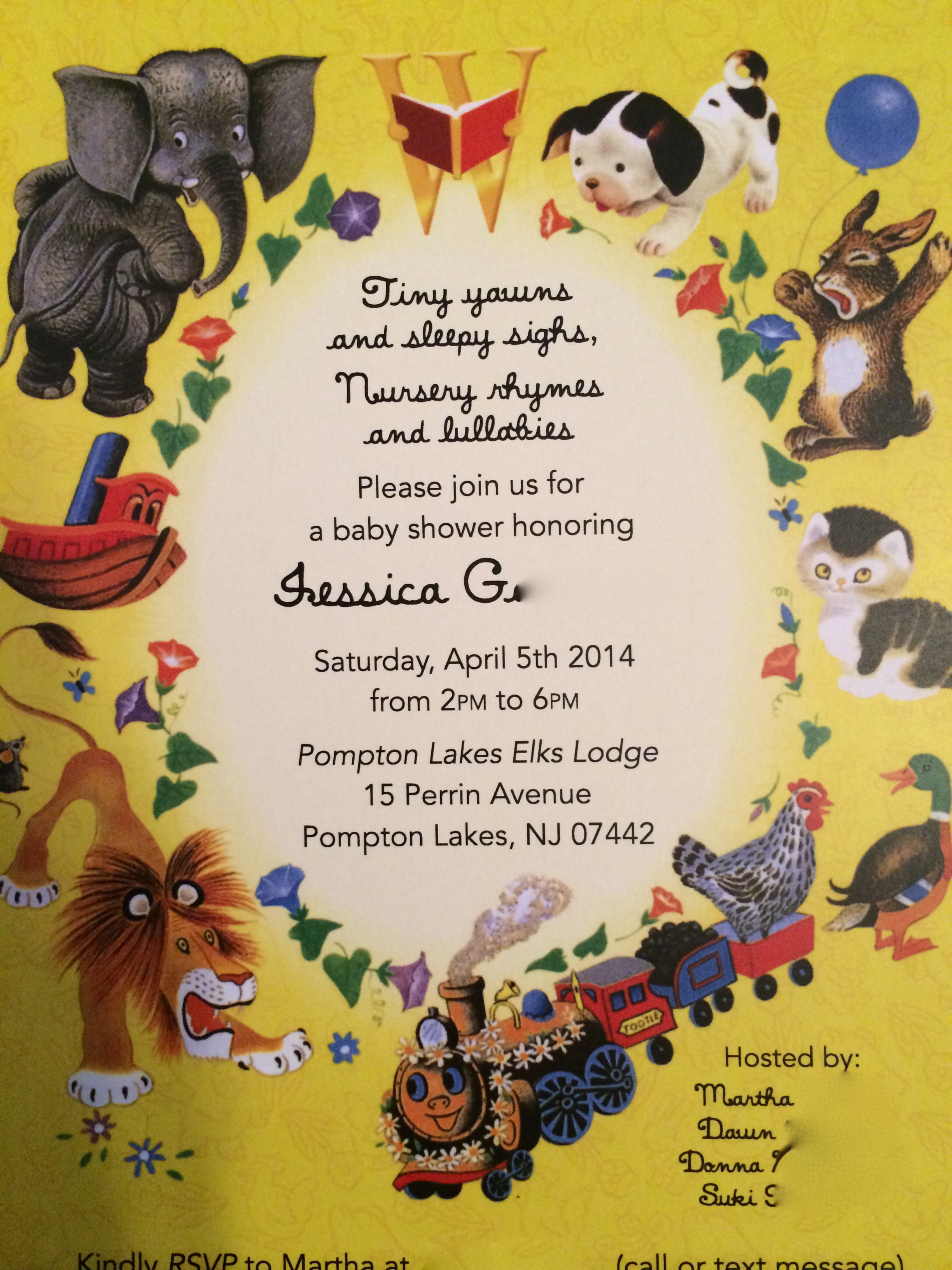 I Hate Being An Aw But My Shower Invite Is Too Darn Cute Not To