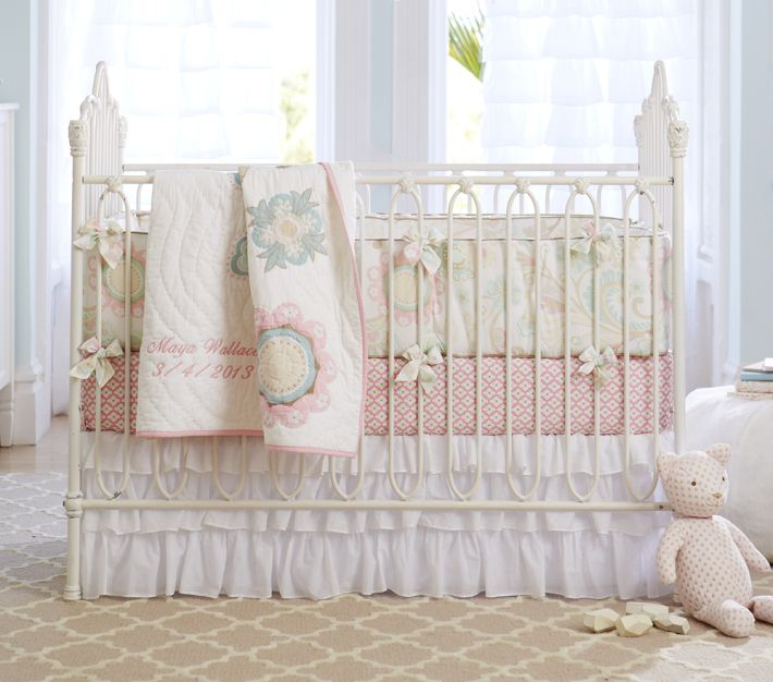 Does Anyone Have Or Has Anyone Seen Pottery Barn Crib Bedding In