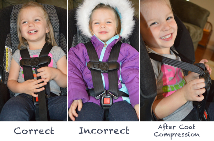 Car seats and winter coats. — The Bump