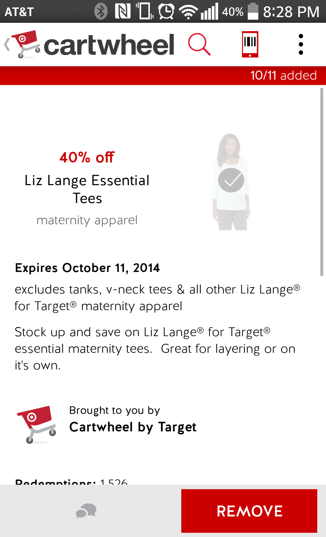 f673cb9413b PSA  Target Cartwheel app maternity discounts — The Bump