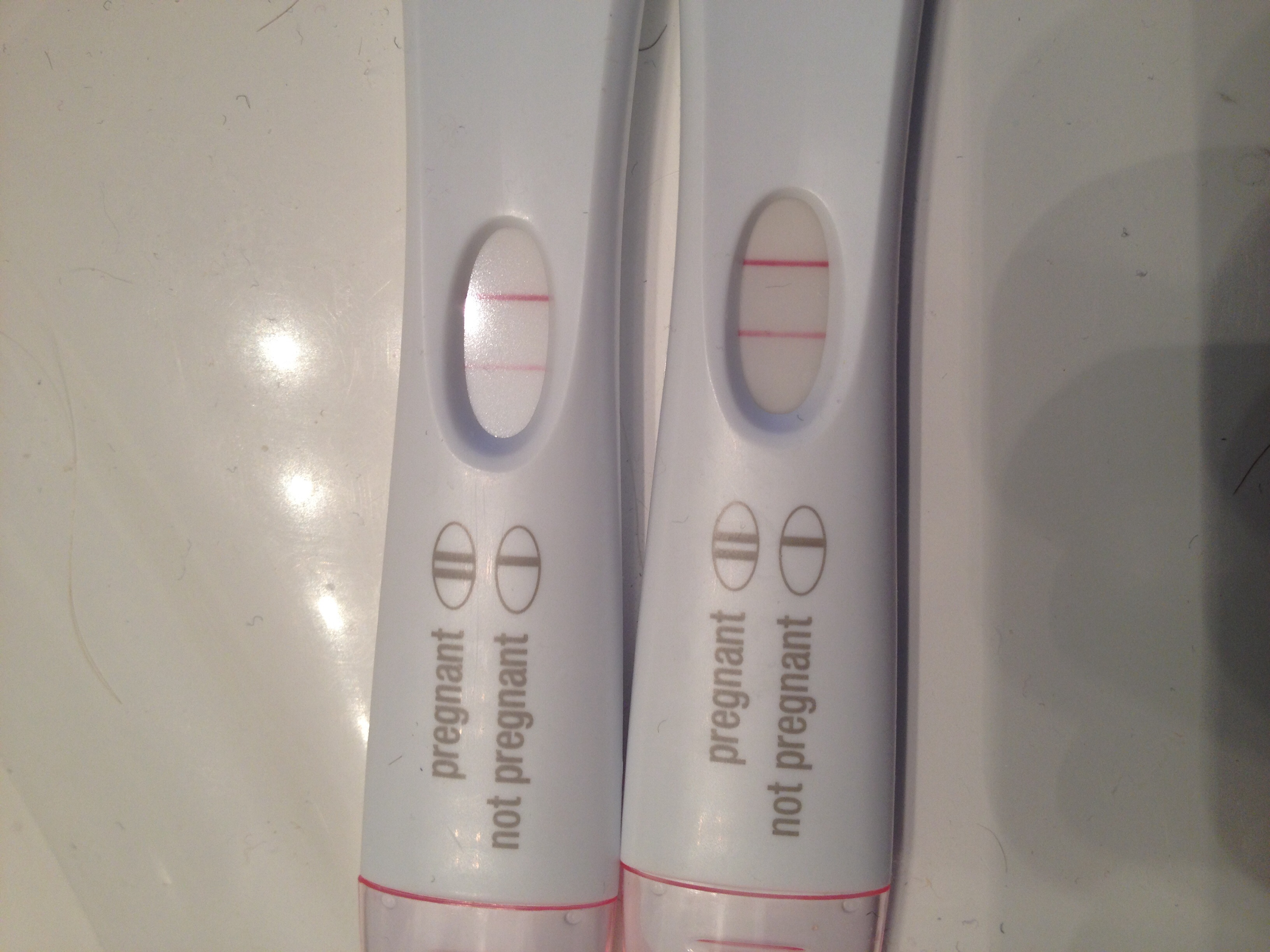 how to tell if a pregnancy test is positive
