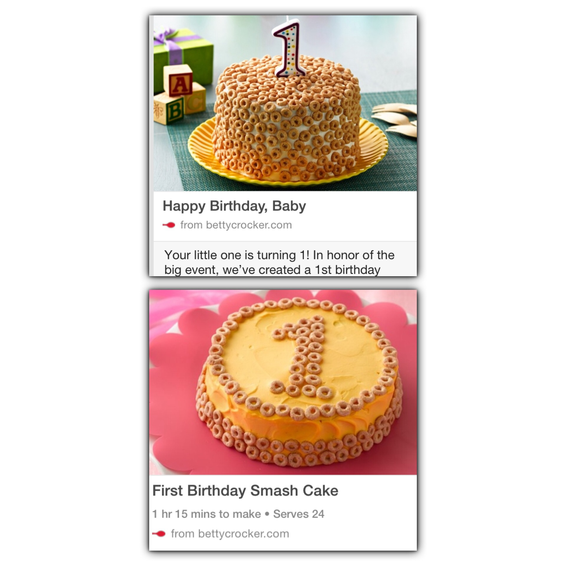 Smash Cake The Bump