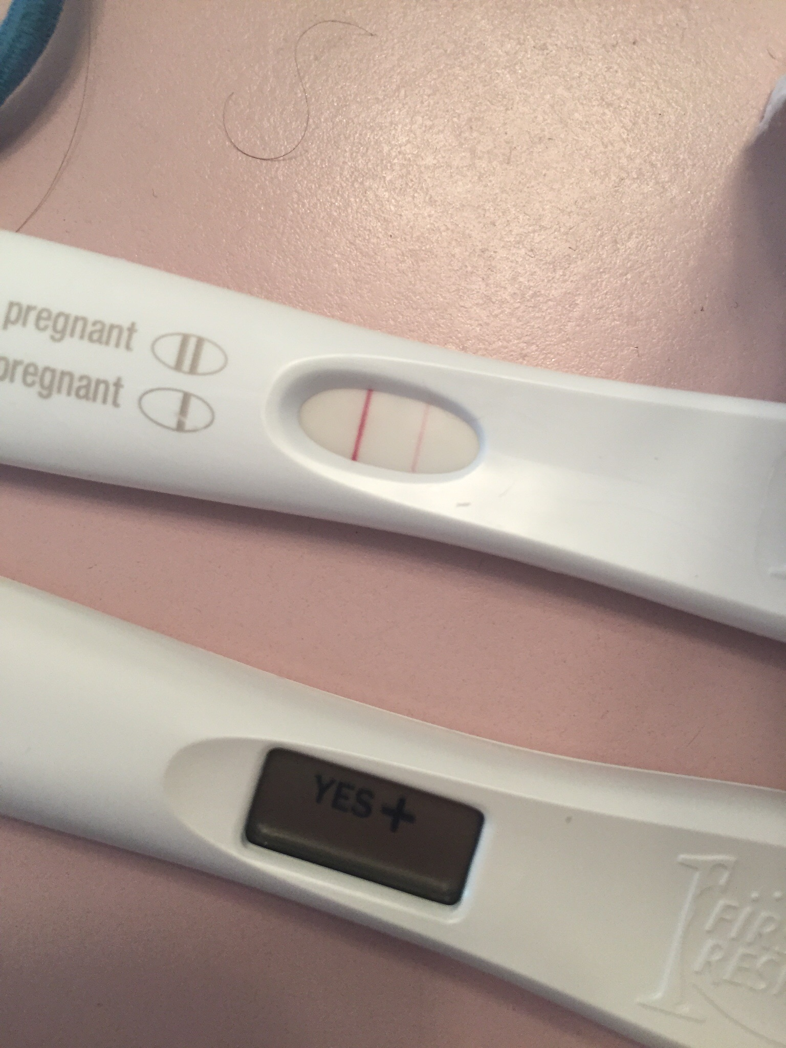 What does a positive pregnancy test really look like Page 12