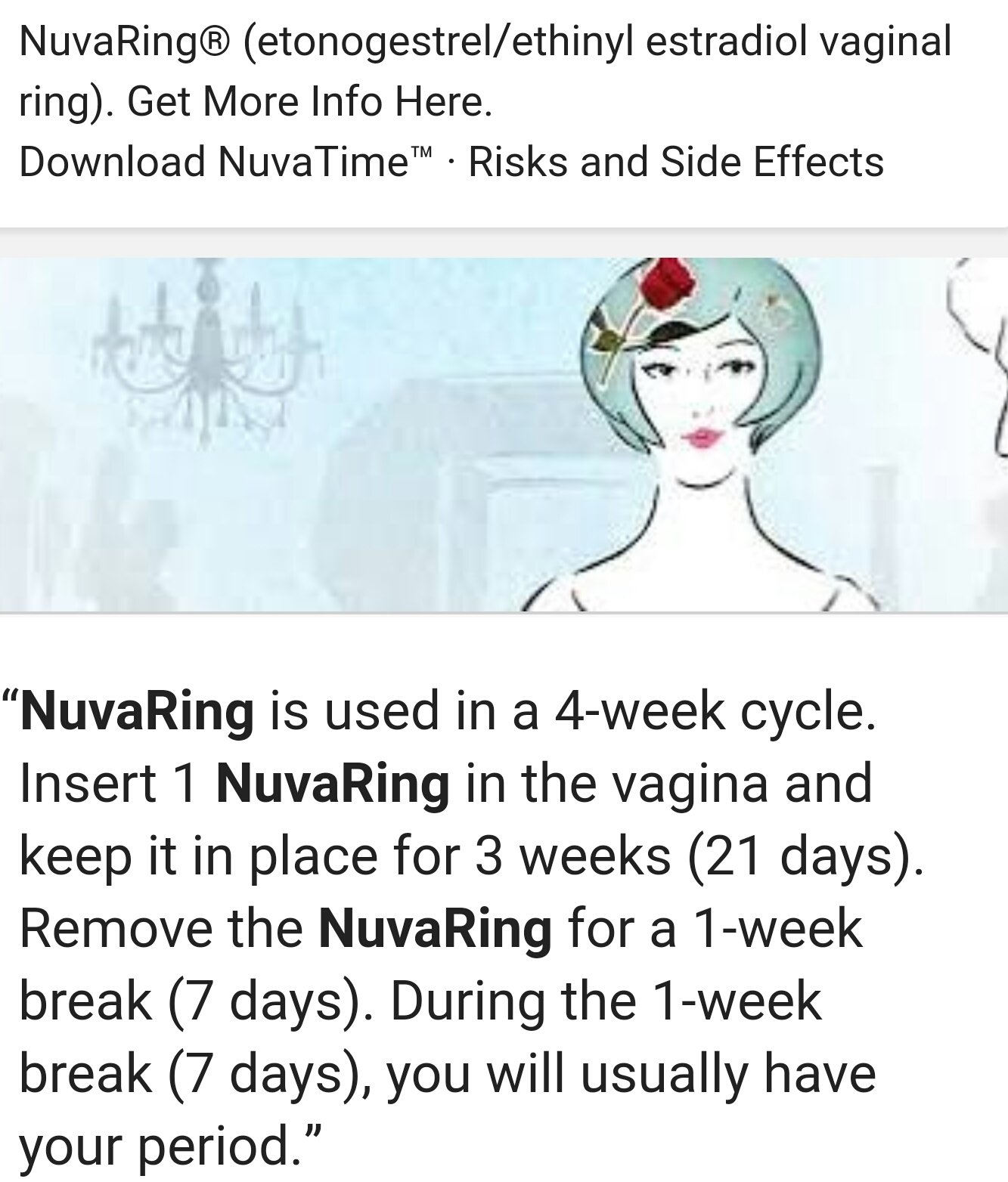 Nuvaring Possibly Failed The Bump