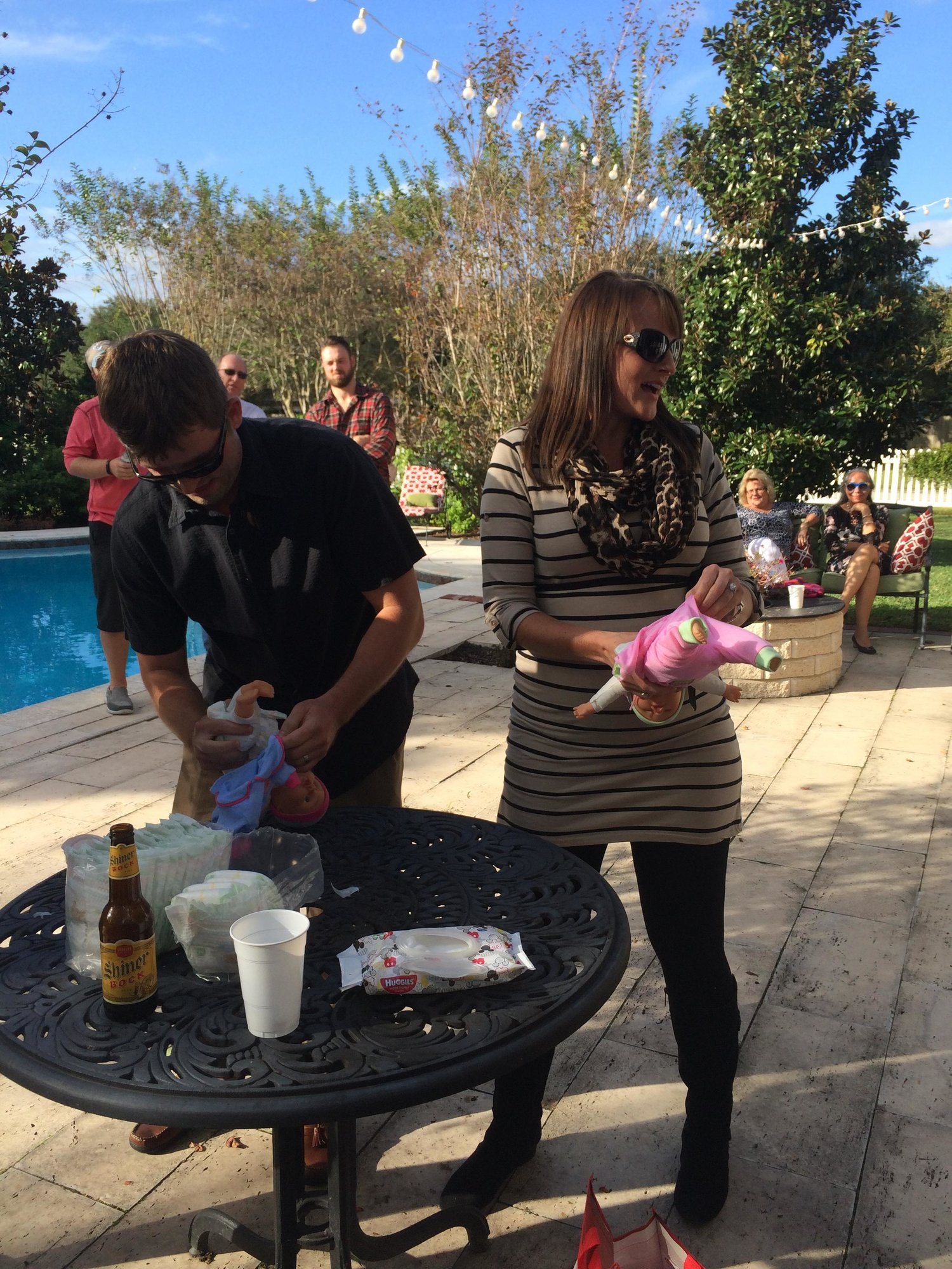 what did you wear for your baby shower the bump
