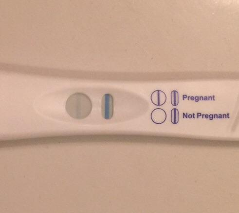 8dp5dt and I have a faint blue line — The Bump