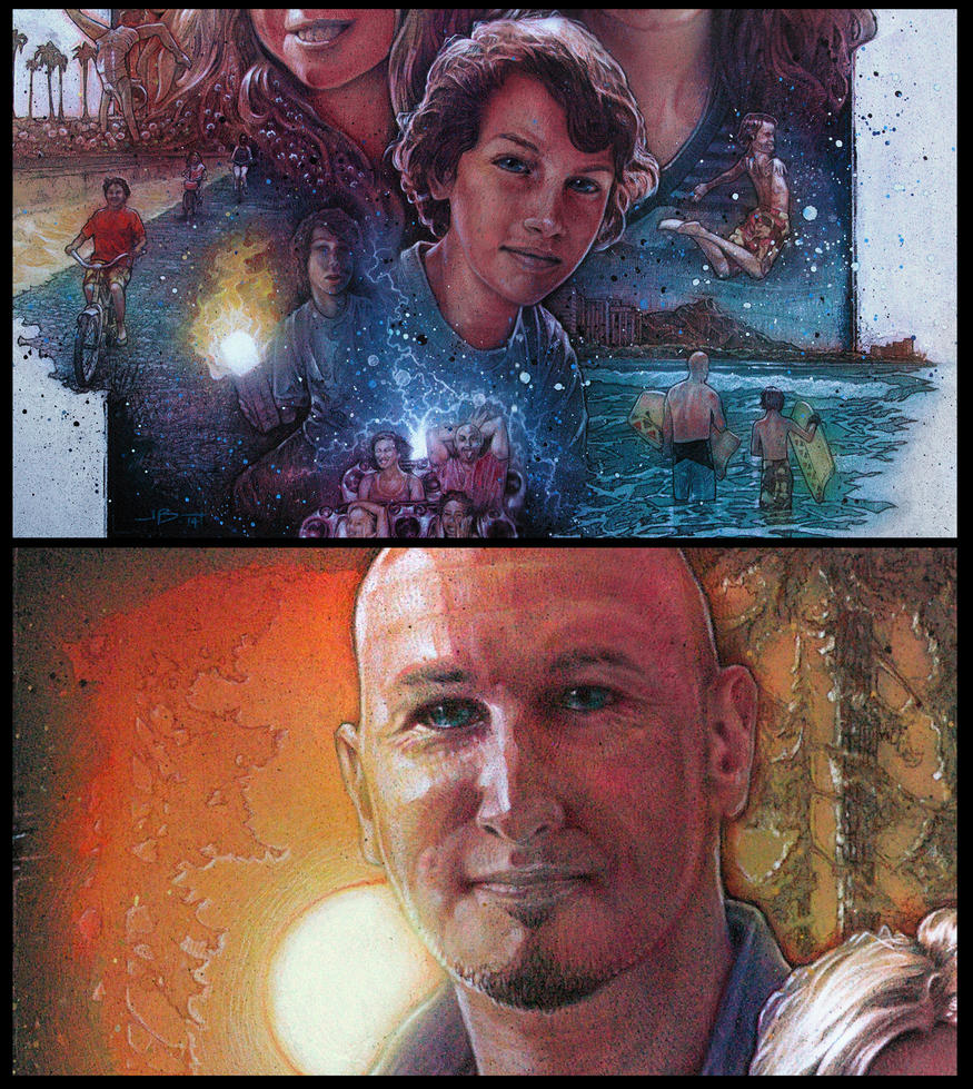 Movie Poster Drew Struzan Style And Technique Polycount