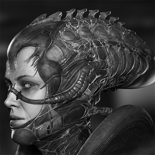 sigourney weaver alien suit � polycount