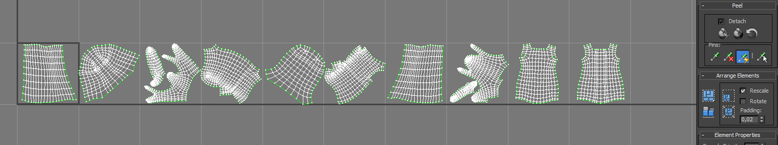 3ds Max - Vray, Multi tile UV workout problems — polycount
