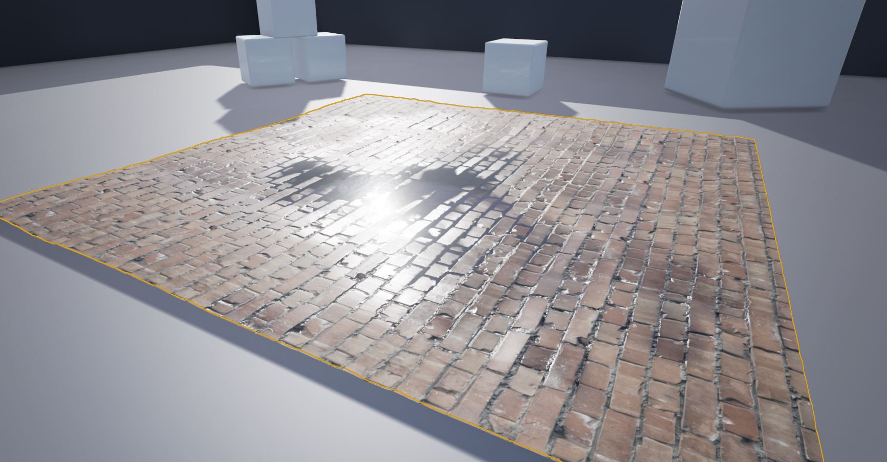 Ue4 Vertex Paint Water Puddle Master Material Polycount
