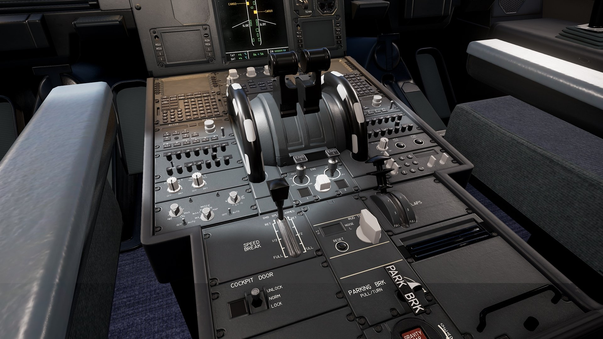 UE4 VR | Airbus A320 Cockpit — polycount