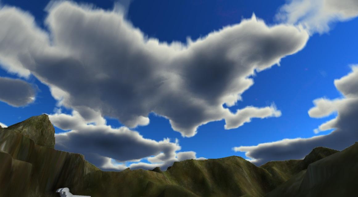 Volumetric clouds, worth it? — polycount