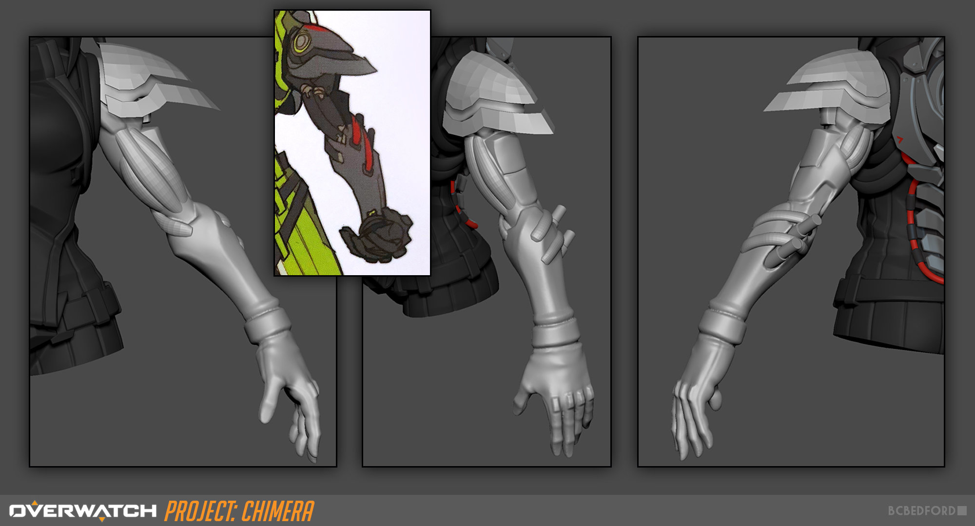 Overwatch Fan Character - Project Chimera — polycount