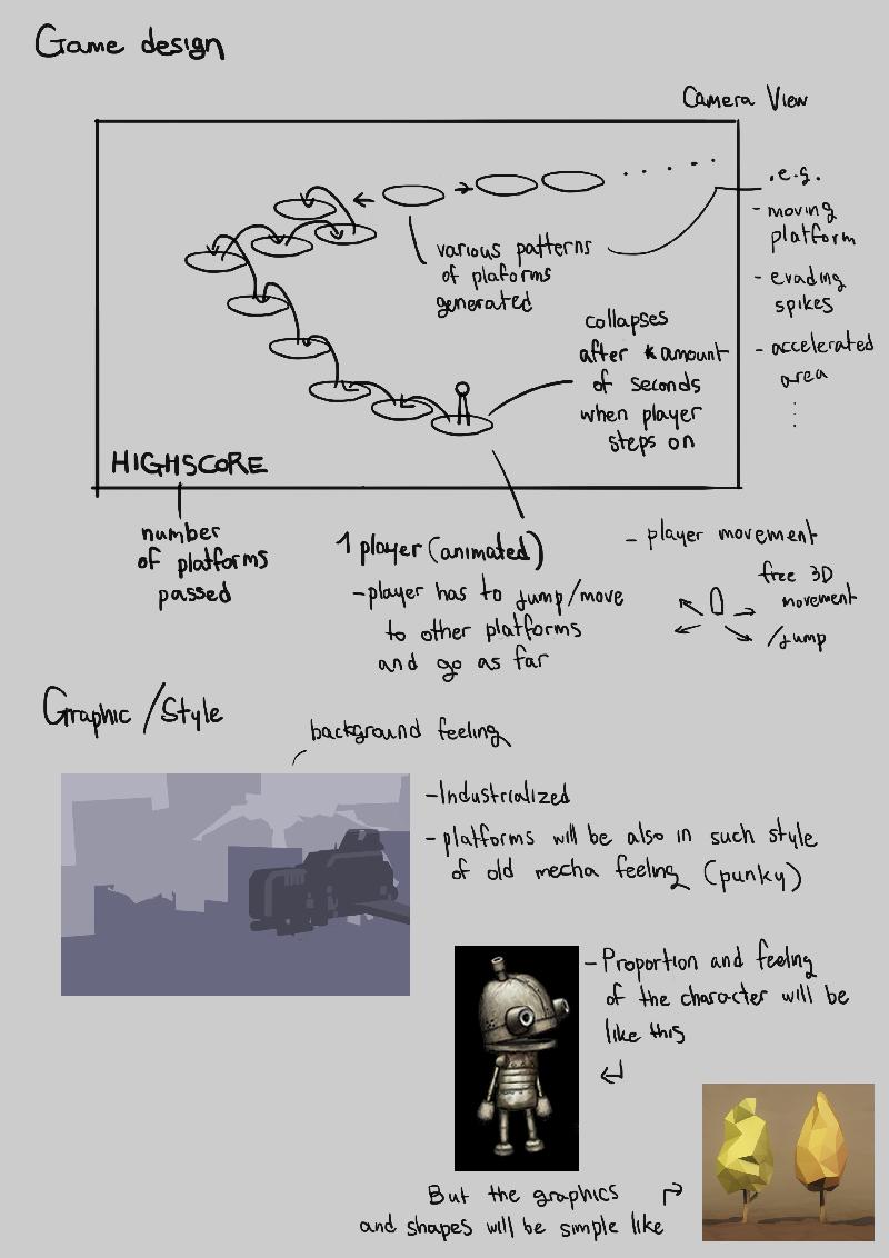 Mecha Runner - UE4 level scripting study — polycount