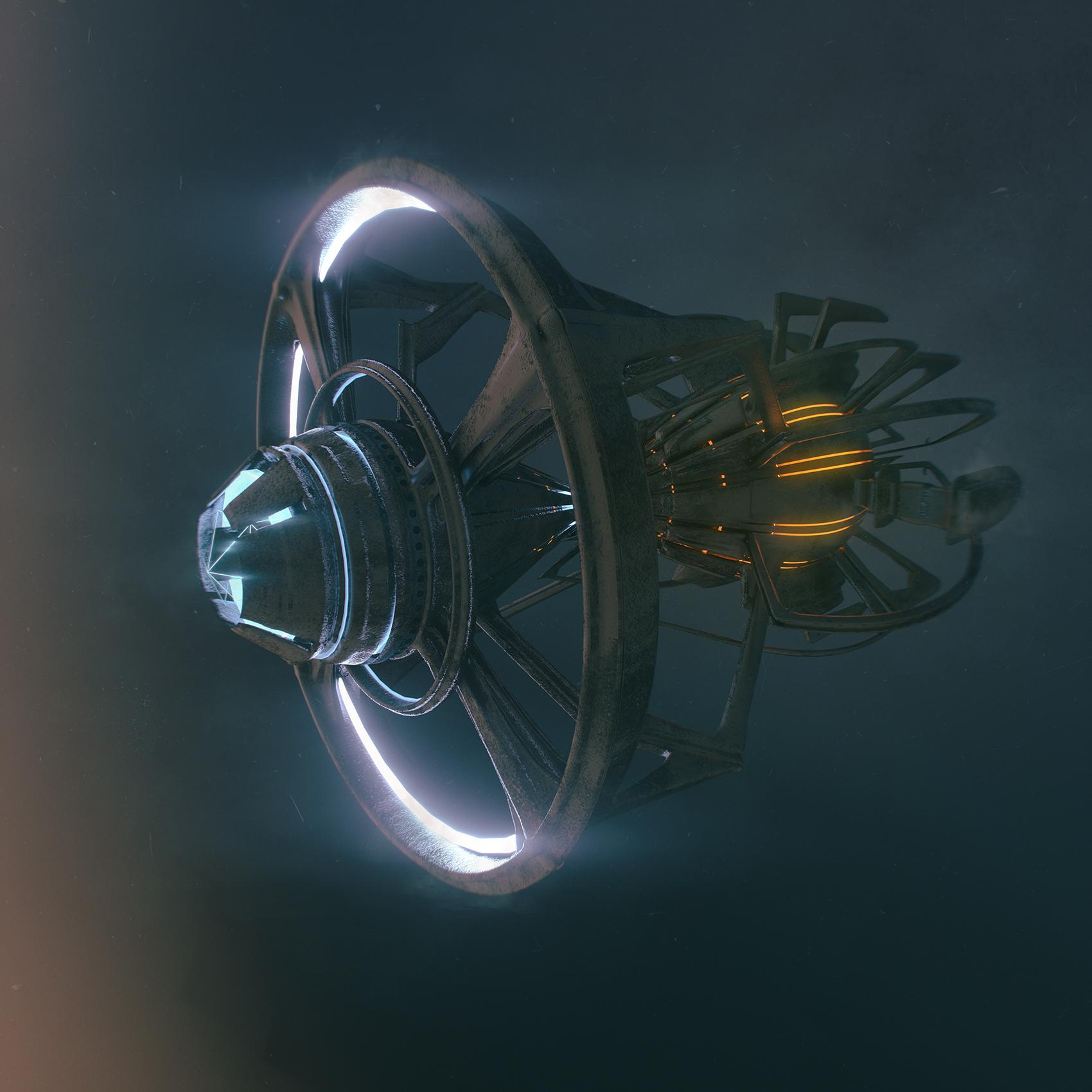 Space And Scifi Things With Zmodeler: Scifi Things A Day