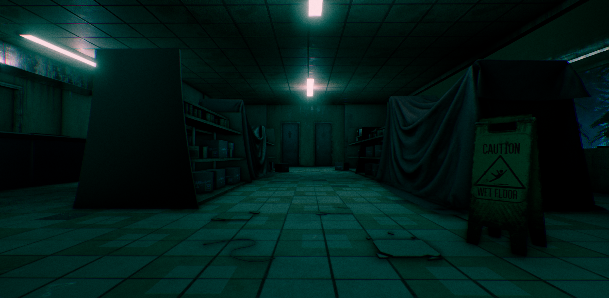 UE4] Environment Art for game project: Dark Silence — polycount