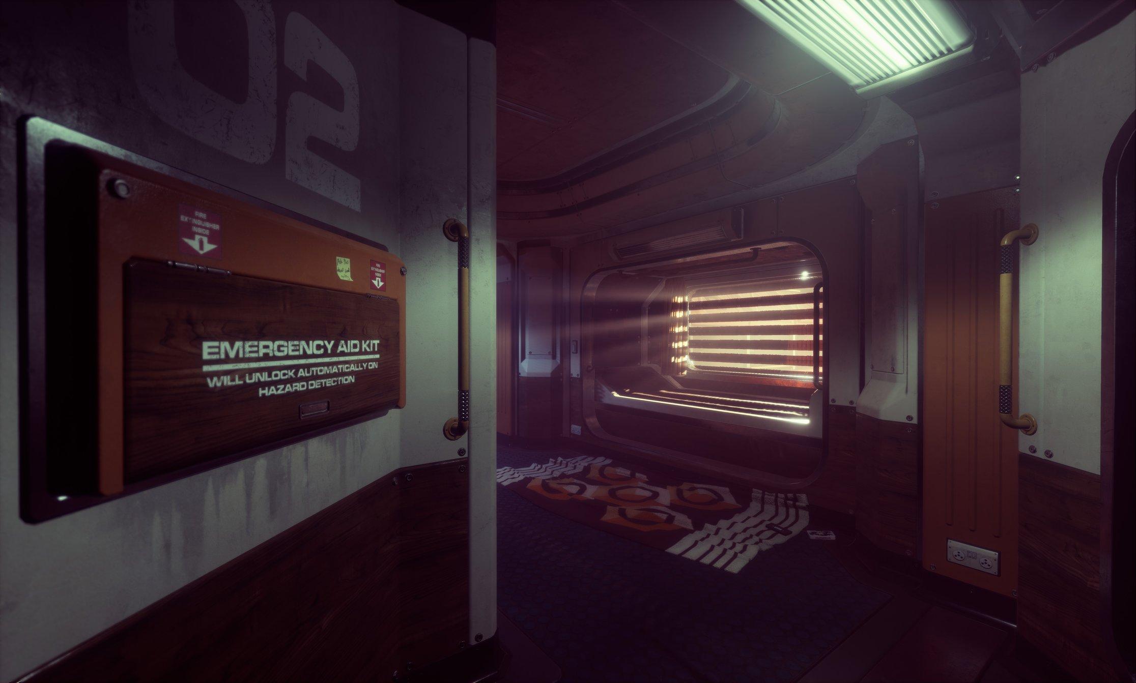 UE4] Alien Isolation Style Lighting   Liam Tart's Sci-Fi