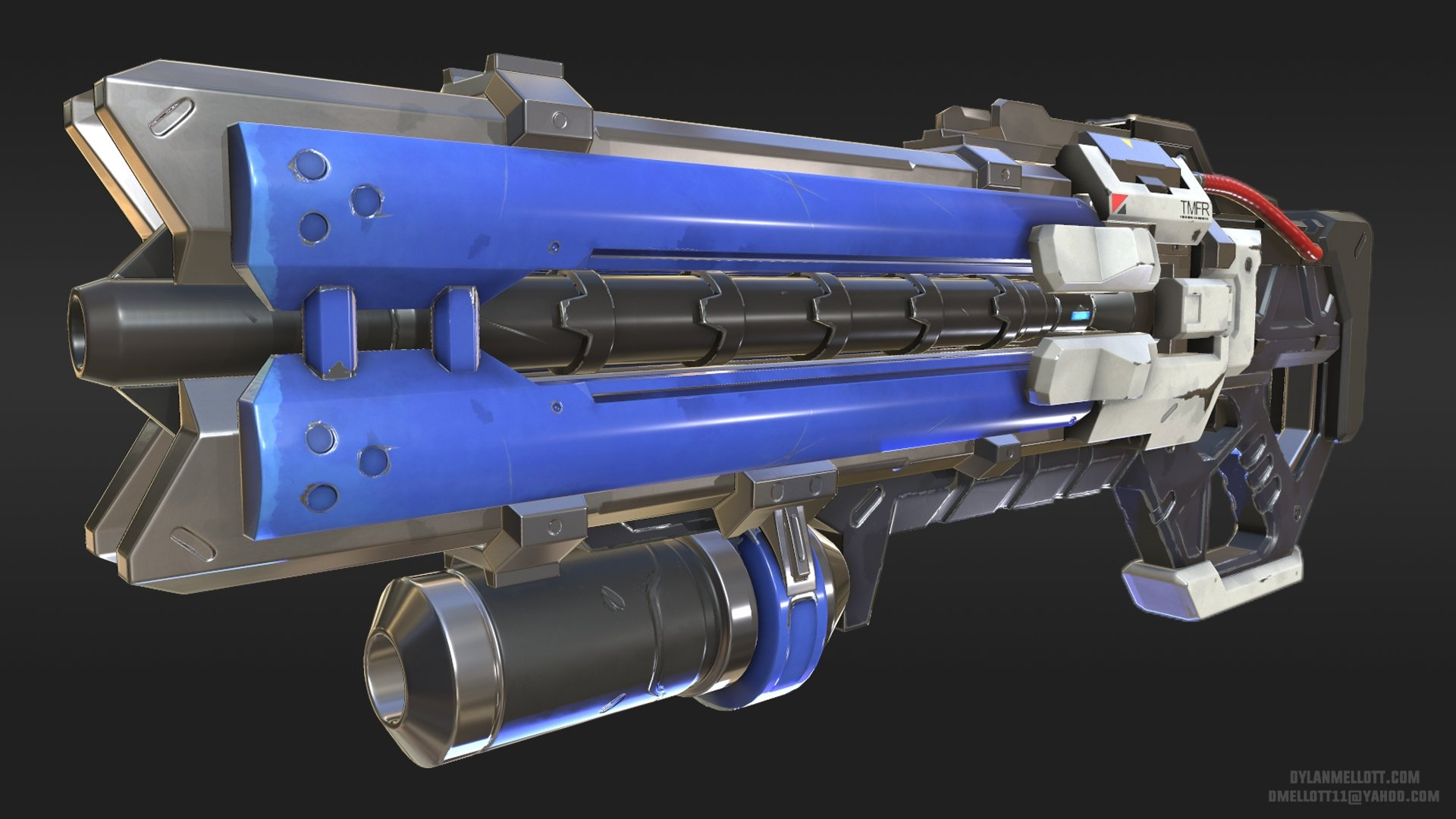 Overwatch - Soldier 76 Weapon — polycount
