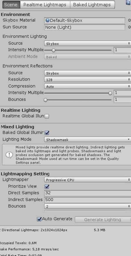 Unity 2018 - Struggeling to get a decent GI bake/look