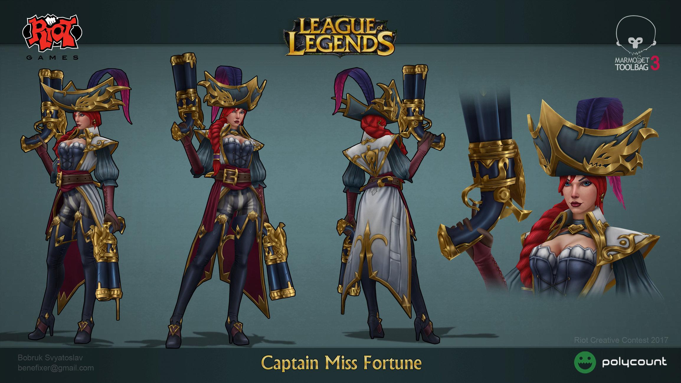 Captain MiГџ Fortune