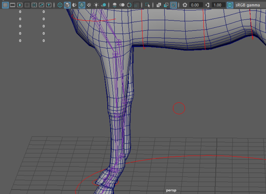 Maya- Quadruped Rigging Help (stag, front legs) — polycount
